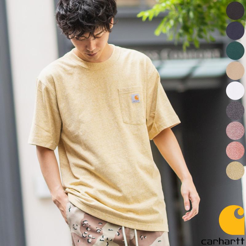 CarharttポケットTシャツ