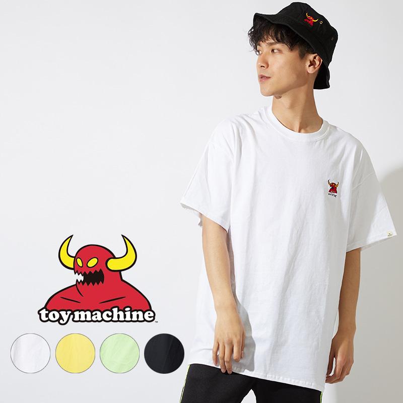 【TOY MACHINE】ロゴ刺繍Tシャツ