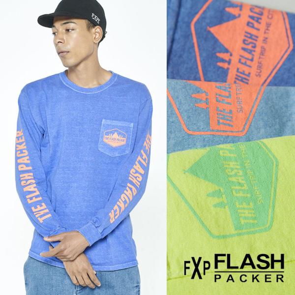 【FLASH PACKER】長袖Tシャツ